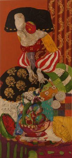 oleos de meninas - Buscar con Google Collage Artists, Source Of Inspiration, Digital Photography, Mixed Media Art, Female Art, Surrealism, Objects, Fine Art, Canvas