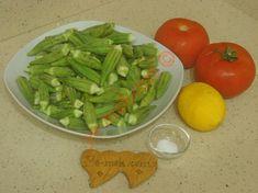 Dondurucuda Kışlık Bamya Saklama İçin Gerekli Malzemeler Turkish Recipes, Celery, Asparagus, Green Beans, Food And Drink, Vegetables, Studs, Vegetable Recipes, Veggies