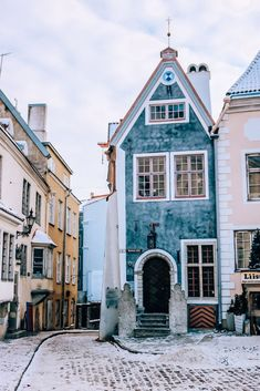 Old Town Tallinn, Estonia. Cute little village quaint town in Estonia. Wanderlust bucket list travel destinations in Europe. Places Around The World, Oh The Places You'll Go, Places To Travel, Travel Destinations, Around The Worlds, Travel Europe, Vacation Travel, Travel 2017, Winter Destinations