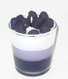Blackberry Vanilla Parfait Candle by CandlelitDesserts on Etsy, $14.99 #spinoff #RT