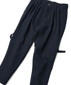 SHAREEF(シャリーフ)のWOOL JQ BONDAGE PANTS(パンツ)|詳細画像