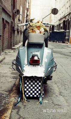 #wedding #Vespa #scooter : )