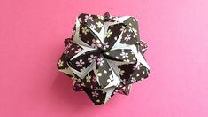 OrigamiSmile Origami Kusudama flower sonobe inside out 30units instructi...