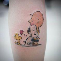 tatuagem do snoopy - Pesquisa Google