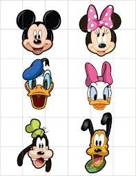Mickey Mouse Clubhouse Characters Cutouts Vectors by casperworld
