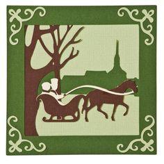 Cricut Craft Room® Exclusives, Christmas Cards – Sleigh