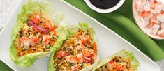 Asian Crab Classic Lettuce Cups Surimi Recipes, Endive Recipes, Crab Recipes, Coffe Recipes, Crohns Recipes, Jucing Recipes, Achiote, Mackerel Recipes, Tagine Recipes