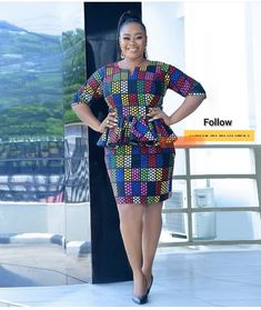 Lovely Design of Short Ankara Skirt and Blouse Styles for beautiful ladies