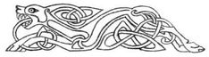 Finish your hunt for a free tattoo design with the racing hound in this Celtic dog design. Norse Tattoo, Celtic Tattoos, Celtic Symbols, Celtic Art, Celtic Knots, Celtic Patterns, Celtic Designs, Vikings, Celtic Animals