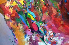 "Saatchi Online Artist Lilla Kuizs; Painting, ""Memories of Thailand"" #art"