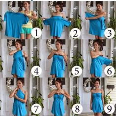 RetroBloom: T-Shirt blir till klänning utan nål & tråd, easy dress