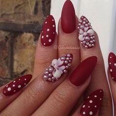 Susan @glamsusie #notd #nails #mat...Instagram photo | Websta (Webstagram)