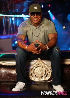 #LLCoolJ is as handsome as ever! Here, he's at Wonderwall's exclusive portrait studio during the iHeartRadio Ultimate Pool Party. See more celebs on Wonderwall: http://on-msn.com/11YPx6D