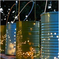 Lake Tahoe Wedding Collection: DIY Lights, Lanterns & Luminaries