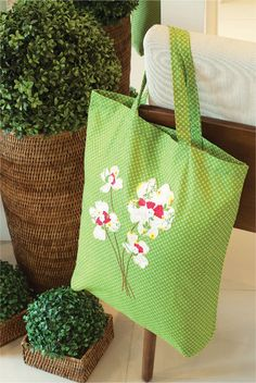Ecobag de patchwork