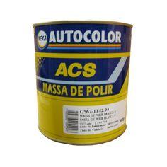 Massa de Polir N° 2 Branca 990g Autocolor. Produto indicado exclusivamente para polimento de todo tipo de acabamento automotivo, pinturas novas e antigas.