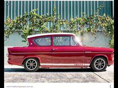 Past blast: Ford Anglia Classic Cars British, Ford Classic Cars, Ford Motor Company, Retro Cars, Vintage Cars, Ford Anglia, Motor Car, Motor Vehicle, Motor Sport