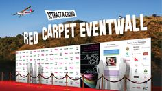 Need one of these for your next event? No sagging banners, our Red Carpet event Walls are constructed of locking aircraft quality aluminum components. Panel go on perfectly in seconds thanks to the magnetic attachment system. #eventwall #promotionalproducts