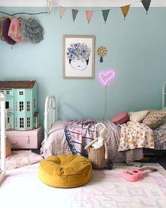 Pink neon heart home - decor creative kids rooms, cool kids rooms и kid Baby Bedroom, Home Decor Bedroom, Girls Bedroom, Creative Kids Rooms, Cool Kids Rooms, Kids Room Design, Big Girl Rooms, Marimekko, Fashion Room