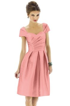 Shop Alfred Sung Bridesmaid Dress - D576 in Peau De Soie at Weddington Way. Find the perfect made-to-order bridesmaid dresses for your bridal party in your favorite color, style and fabric at Weddington Way.