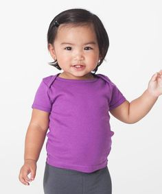 Look what I found on #zulily! Ultraviolet Organic Lap-Neck Tee - Infant by American Apparel #zulilyfinds