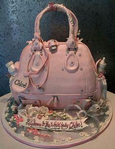 Diaper Bag Cake!