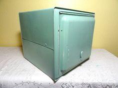 Vintage Bread Box Hoosier Metal Pie Safe by bluebonnetfields, $84.00