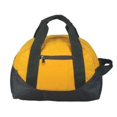 "12"" Mini Size Two Tone Duffle Bag - DB1121"