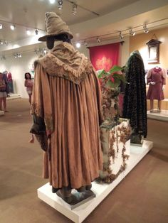 Professor Sprout costume back Harry Potter and the Chamber of Secrets