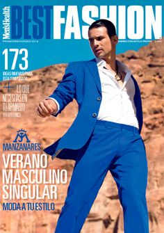 c1e07b84d39e Famous matador Jose Mari Manzanares poses for the cover story of Spanish  Best Fashion magazine s latest edition lensed by fashion photographer Edu  Garcia.