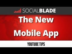 YouTube Statistics, Twitch Statistics, Instagram Statistics - SocialBlade.com Social Blade compiles data from YouTube, Twitch, and Instagram and uses the data to make statistical graphs and charts tracking progress and growth. currently tracks over 4 million YouTube channels