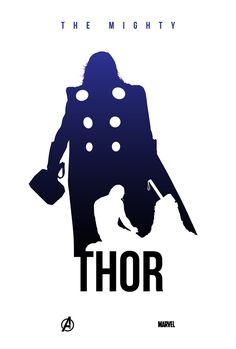 Thor Silhouette by Kevin Collert