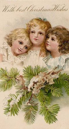 .vintage xmas cards in stand up frames make great xmas decoration!