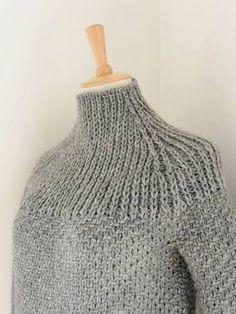 「ガンジーセーター 編み図」の画像検索結果
