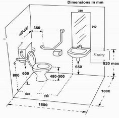 Minimum Toilet Cubicle Dimensions Cute Backyard Property Or Other Minimum Toilet Cubicle Dimensions Ideas - Information About Home Interior And Interior Minimalist Room Bathroom Layout Plans, Bathroom Design Layout, Bathroom Floor Plans, Bathroom Plumbing, Bathroom Design Small, Bathroom Interior Design, Layout Design, Bathroom Ideas, Ada Bathroom