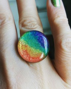 Shop and discover emerging brands from around the world Marcel, Druzy Ring, Rainbows, Rings, Shopping, Image, Jewelry, Design, Rainbow