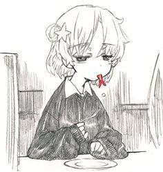 Pretty Art, Cute Art, Aesthetic Art, Aesthetic Anime, Yazawa Ai, Character Art, Character Design, Emo Art, Arte Sketchbook
