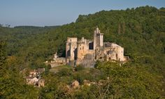 It was once a marvel of military architecture that incorporated the latest development in defensive protection against artillery; today, it stands as one of the most impressive and evocative castle ruins in France.
