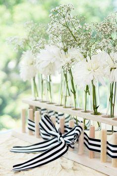test tube flower arrangements