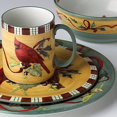 Lenox Winter Greetings Everyday - my Christmas dishes
