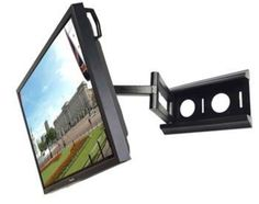 Installing a wall-mount television in the corner can maximize the available space in the family room or home theater, since there may be limited wall space for big screens in. Diy Tv Wall Mount, Wall Mount Tv Stand, Wall Mounted Tv, Corner Tv Mount, Tv Mounted In Corner, Camouflage, Ceiling Tv, Swivel Tv Stand, Lcd Television
