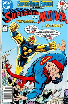 Super-Team Family: The Lost Issues! Old Comic Books, Vintage Comic Books, Vintage Comics, Comic Book Covers, Dc Comics Vs Marvel, Old Comics, Dc Comics Art, Marvel And Dc Crossover, Cartoon As Anime
