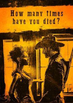 Alternative serie poster: Westworld, Maeve