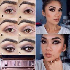 Mocno zaakcentowany makijaż oczu