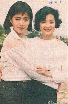 Joey Wong and Brigitte Lin, 1989