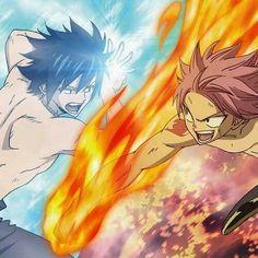 Gray vs. Natsu (Fairy Tail) Omg I can't decide, I love them both!! ^~^
