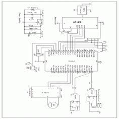 Electronic Circuit DC Motor Driver using H-Bridge MOSFET