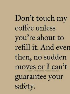 step away from the coffee!