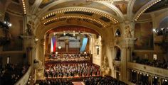 Prague Spring - international music festival - The Prague Spring opening concert in 26 countries! Prague Spring, Places Ive Been, Places To Go, Prague Czech Republic, Four Seasons Hotel, Concert Hall, Bosnia, Eastern Europe, Classical Music