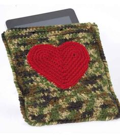 Crochet iPad Case from @joannstores